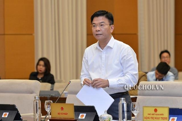 Chủ tịch Quốc hội phê bình bộ ngành thiếu trách nhiệm khi trình luật - 1