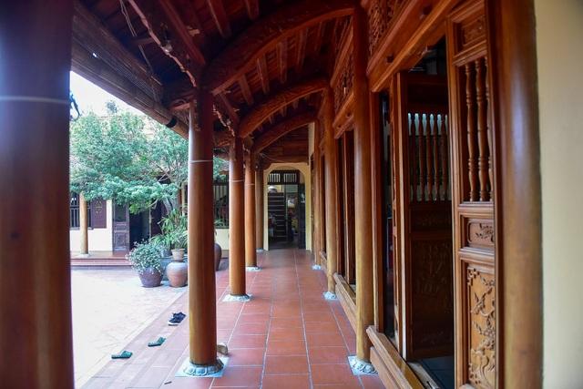 Nhà gỗ Bắc Bộ 1,5 tỷ đồng đẹp hiếm có ở Hưng Yên, ngày nào khách cũng vào ra chiêm ngưỡng - 7