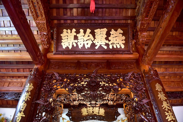 Nhà gỗ Bắc Bộ 1,5 tỷ đồng đẹp hiếm có ở Hưng Yên, ngày nào khách cũng vào ra chiêm ngưỡng - 6