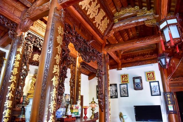 Nhà gỗ Bắc Bộ 1,5 tỷ đồng đẹp hiếm có ở Hưng Yên, ngày nào khách cũng vào ra chiêm ngưỡng - 5