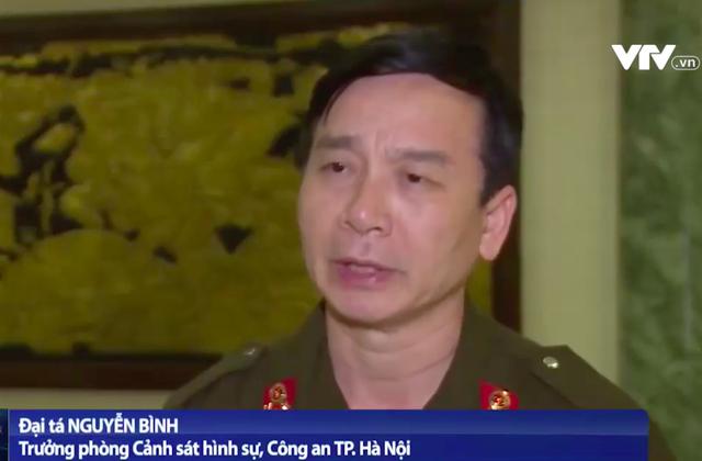 Trưởng phòng Cảnh sát hình sự Công an Hà Nội thông tin về vụ việc ở Đồng Tâm - 1