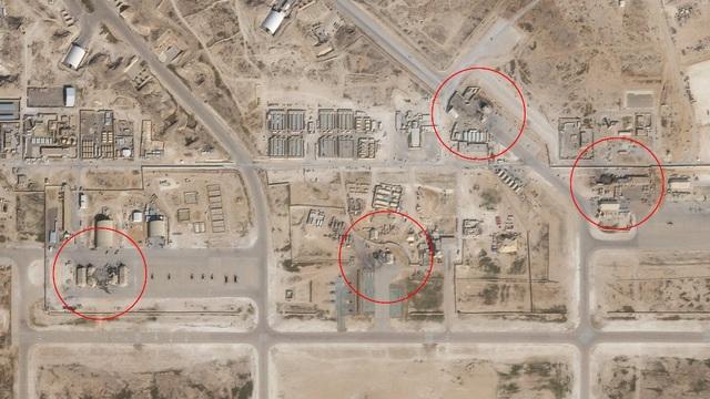 Ảnh vệ tinh cho thấy thiệt hại của căn cứ Mỹ sau vụ tấn công của Iran - 1