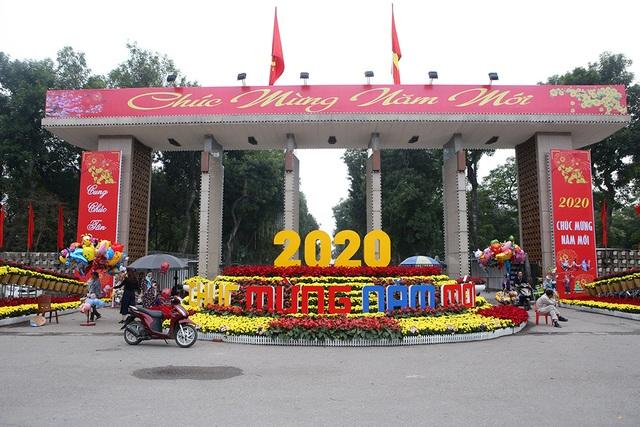 Tết gõ cửa, Hà Nội trang hoàng đón tết Canh Tý 2020 - 1