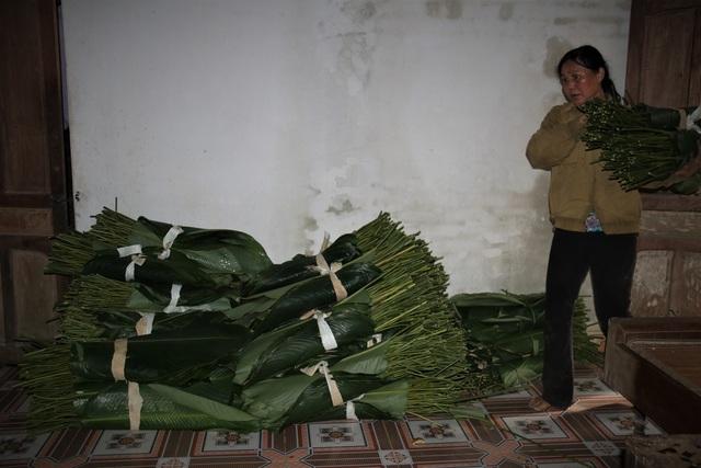 Hà Tĩnh: Thủ phủ lá dong Đức Thọ hối hả vào vụ Tết - 6