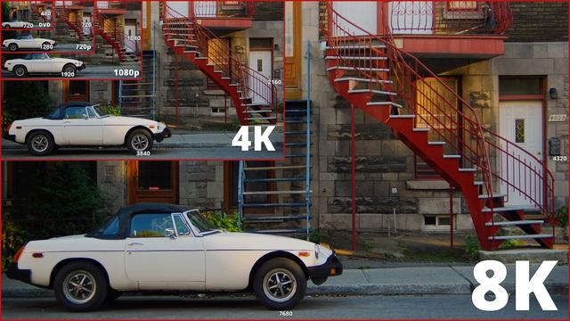 4K vẫn chưa thành chuẩn chung, tại sao các nhà sản xuất TV đã vội vàng hướng tới 8K? - 4
