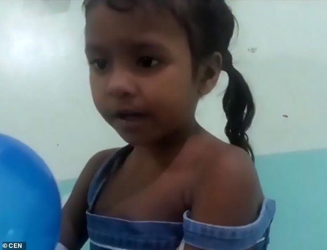 Bé gái 4 tuổi sống sót sau 5 ngày bị lạc trong rừng ở Brazil - 1