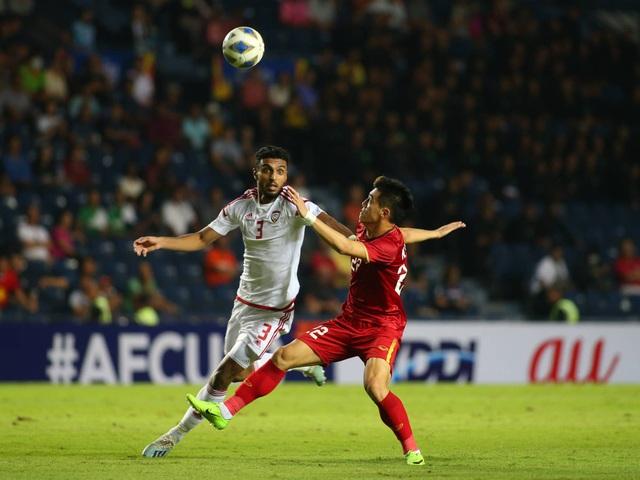 U23 Việt Nam bất phân thắng bại với U23 UAE - 4
