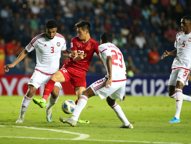 U23 Việt Nam bất phân thắng bại với U23 UAE - 5