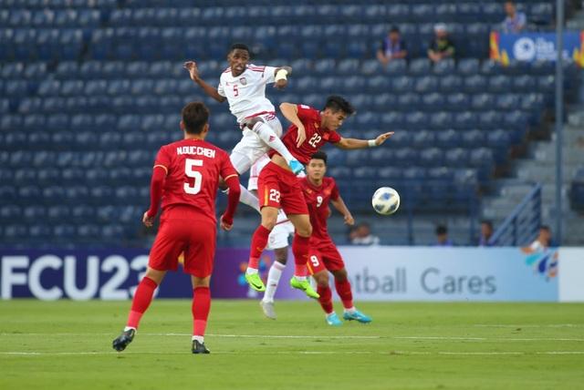 U23 Việt Nam bất phân thắng bại với U23 UAE - 18