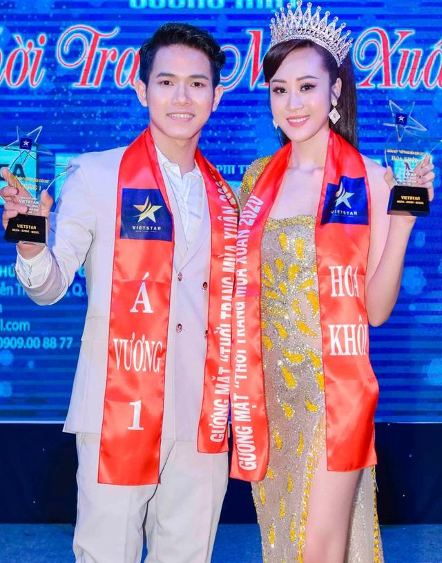 Anika Trinh Trinh đăng quang Hoa khôi Gương mặt Thời trang Mùa Xuân - 7