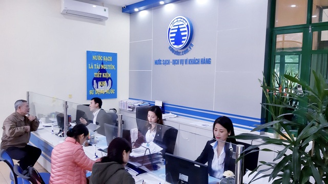 Nước sạch số 2 Hà Nội - Dịch vụ vì khách hàng, điểm sáng tiêu biểu 2019 - 2