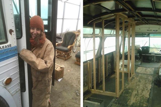 Cô gái chi gần 2 tỷ đồng mua xe cũ, thiết kế thành ngôi nhà di động vạn người mê - 3