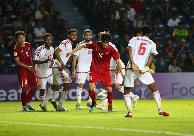 U23 Việt Nam bất phân thắng bại với U23 UAE - 3