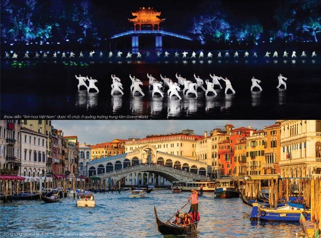 """Grand World Phú Quốc: Thành phố mua sắm """"không ngủ"""" đầu tiên tại Đảo Ngọc - 3"""