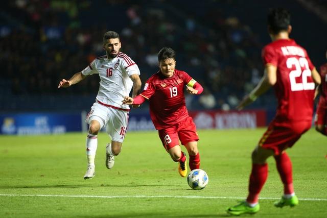 U23 Việt Nam bất phân thắng bại với U23 UAE - 1