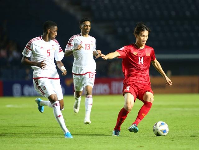 U23 Việt Nam bất phân thắng bại với U23 UAE - 6