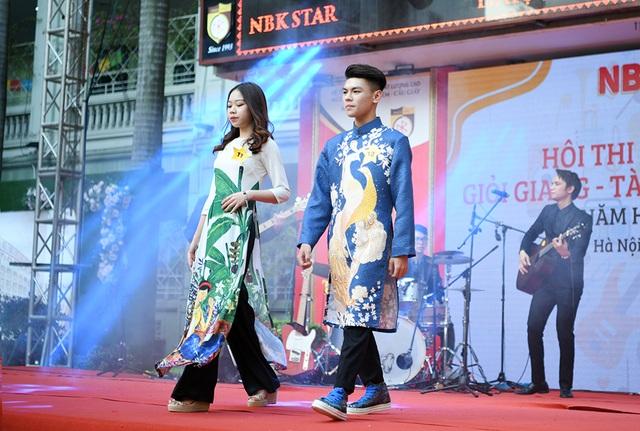 Lộ diện Nam vương và Hoa khôi học sinh trường THPT Nguyễn Bỉnh Khiêm - 8