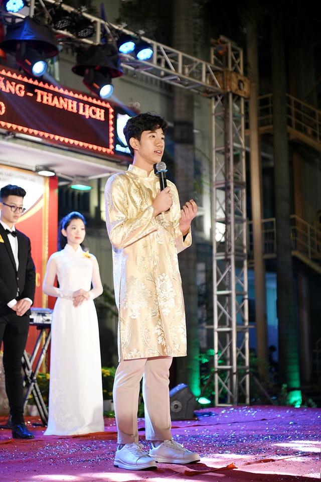 Lộ diện Nam vương và Hoa khôi học sinh trường THPT Nguyễn Bỉnh Khiêm - 3
