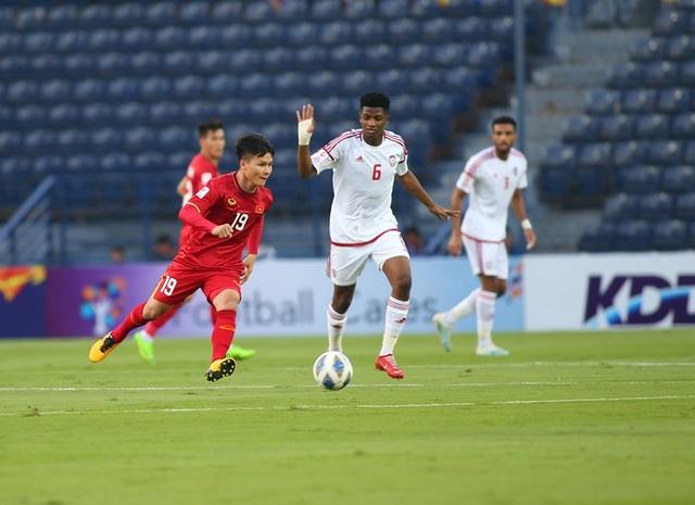 U23 Việt Nam bất phân thắng bại với U23 UAE - 20