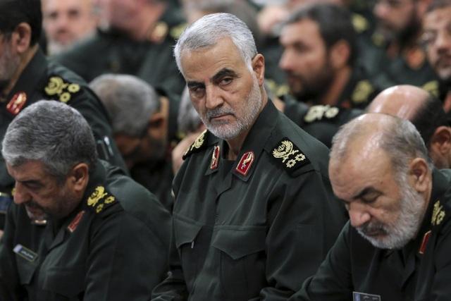 Hé lộ nhóm chỉ điểm cho Mỹ không kích tướng Iran - 1