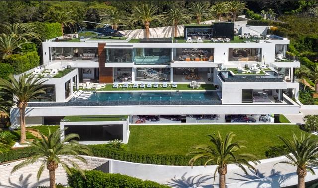 Căn biệt thự Bel Air tuyệt đẹp với khoản thế chấp khổng lồ 58 triệu USD - 1