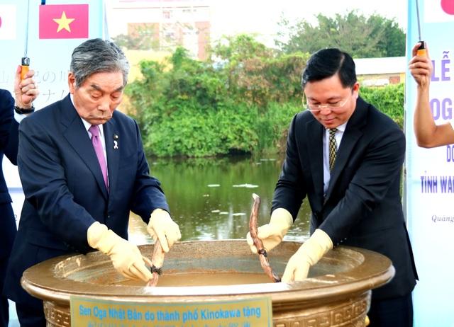 Nhật Bản tặng giống sen quý cho Quảng Nam - 2