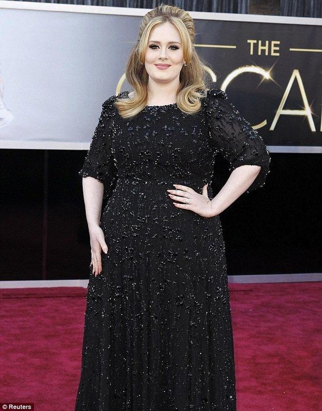 Adele đã giảm hàng chục kg - 7