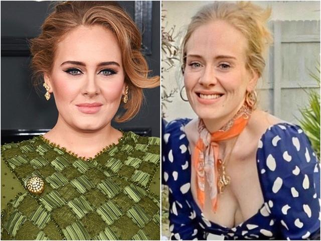 Adele đã giảm hàng chục kg - 4