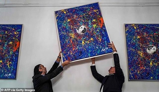 Thần đồng hội họa 7 tuổi bán tranh giá hàng trăm triệu đồng - 5