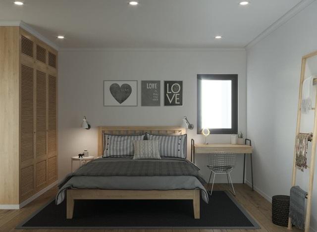 Căn hộ một phòng ngủ sở hữu gam màu xanh mát mẻ - 8