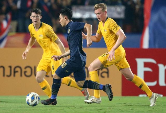 U23 Australia 2-1 U23 Thái Lan: Thất bại đau đớn của chủ nhà - 3