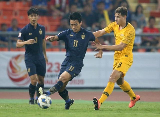 U23 Thái Lan thua ngược U23 Australia: Điểm yếu về thể lực - 2