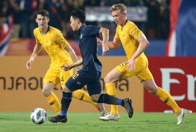 U23 Thái Lan thua ngược U23 Australia: Điểm yếu về thể lực - 4