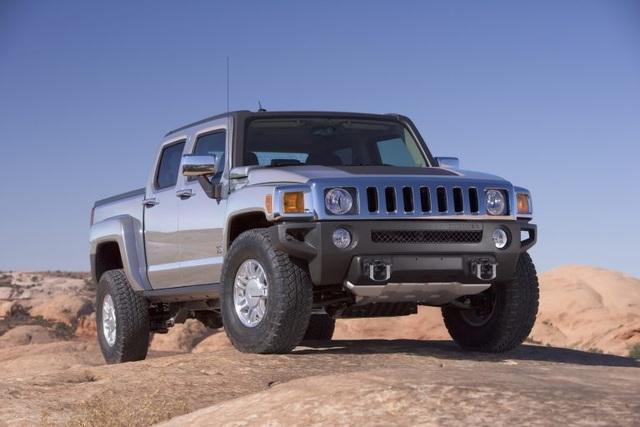 Hummer sẽ đánh dấu sự trở lại bằng một mẫu bán tải - 1