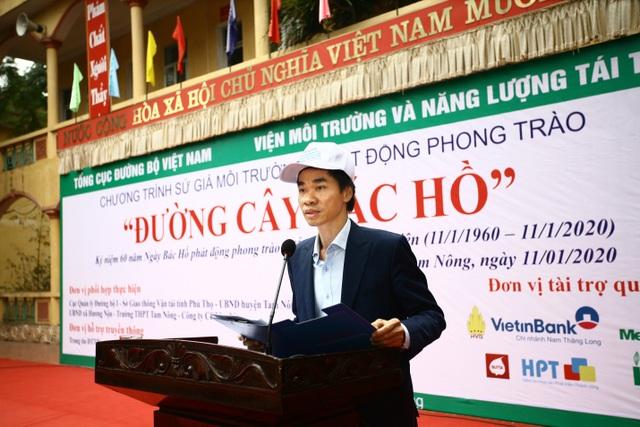 """Phát động trồng """"Đường cây Bác Hồ"""" đầu tiên tại Phú Thọ - 1"""