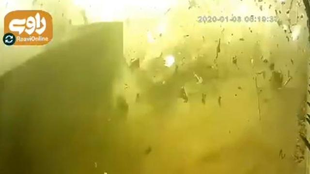 Cảnh máy bay Ukraine chở 176 người nổ tung sau khi bị Iran bắn nhầm - 1