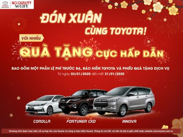 """Toyota Việt Nam khuyến mãi """"khủng"""" cho 3 dòng xe CKD - 1"""