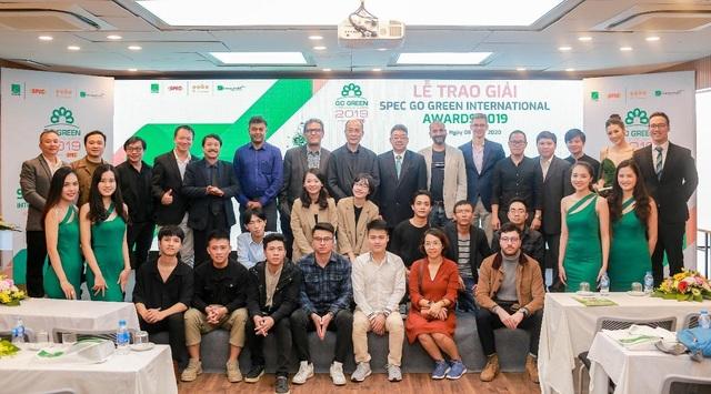Lễ trao giải và triển lãm Kiến trúc xanh SPEC Go Green International Awards 2019 - 1