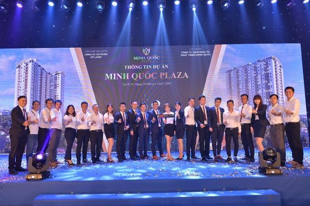 Sôi động khí thế ra quân dự án Minh Quốc Plaza Bình Dương - 1