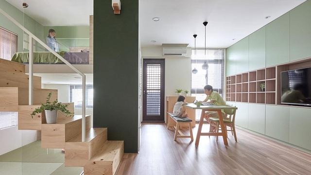 Ngỡ ngàng với căn nhà vỏn vẹn 40m2, chủ nhà làm mẹo nhỏ này khiến diện tích tăng gấp đôi - 6