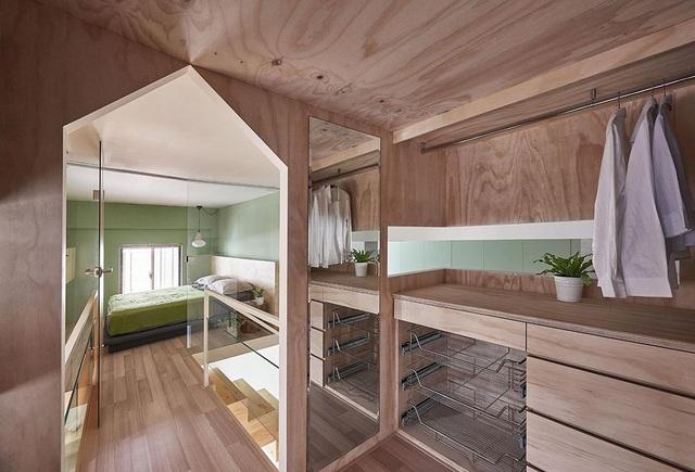 Ngỡ ngàng với căn nhà vỏn vẹn 40m2, chủ nhà làm mẹo nhỏ này khiến diện tích tăng gấp đôi - 8