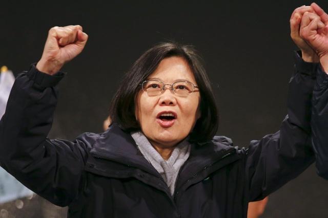 Lãnh đạo Đài Loan Thái Anh Văn giành chiến thắng áp đảo trong bầu cử - 1