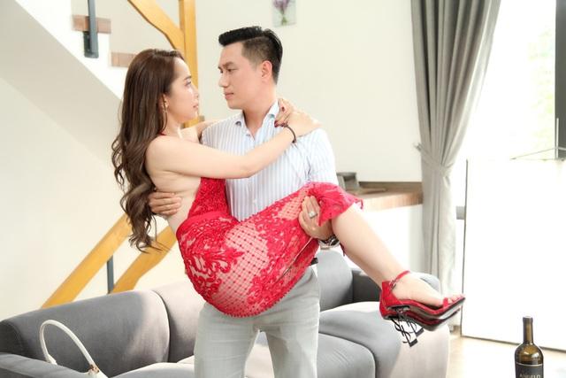 """Đóng cảnh """"nóng"""" bạo liệt nhưng Việt Anh thừa nhận: """"Chưa hôn ai khó như Quỳnh Nga"""" - 3"""