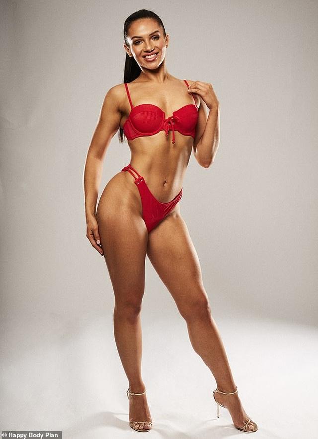 Alexandra Cane bốc lửa hơn sau khi giảm cân - 4