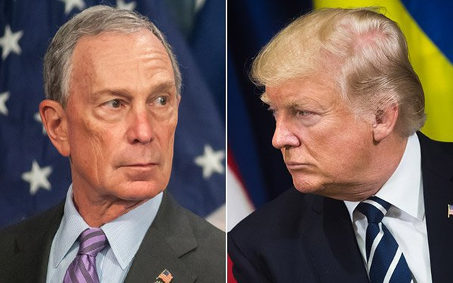Tỷ phú Bloomberg: Tôi sẽ tiêu hết tiền để loại ông Trump khỏi Nhà Trắng - 1