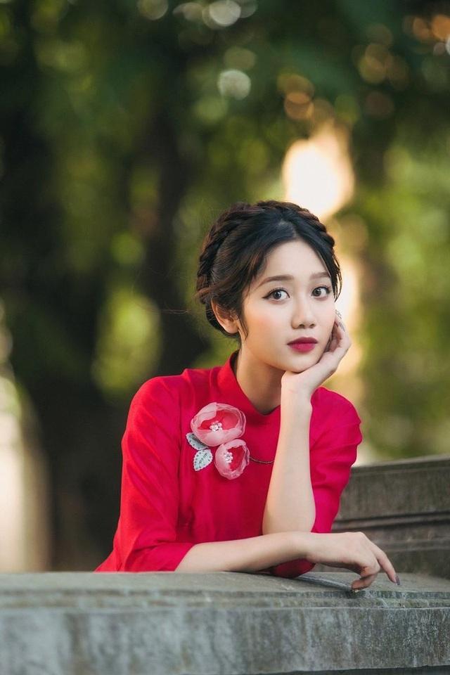 """""""Thiên thần ảnh thẻ"""" Lào Cai xinh xắn ngóng Xuân sang - 4"""