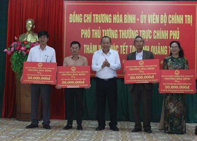Phó Thủ tướng tặng Quỹ khuyến học tại Quảng Trị 400 triệu đồng - 2