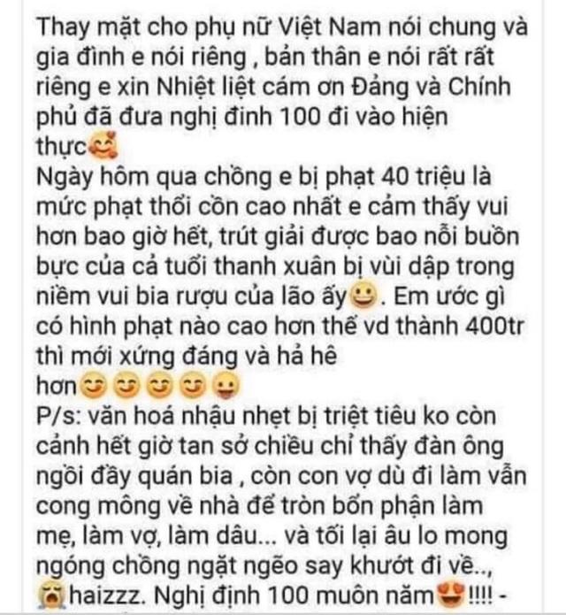 """Hoa hậu Ngọc Hân """"quá ưng"""" Nghị định xử phạt vi phạm nồng độ cồn - 1"""