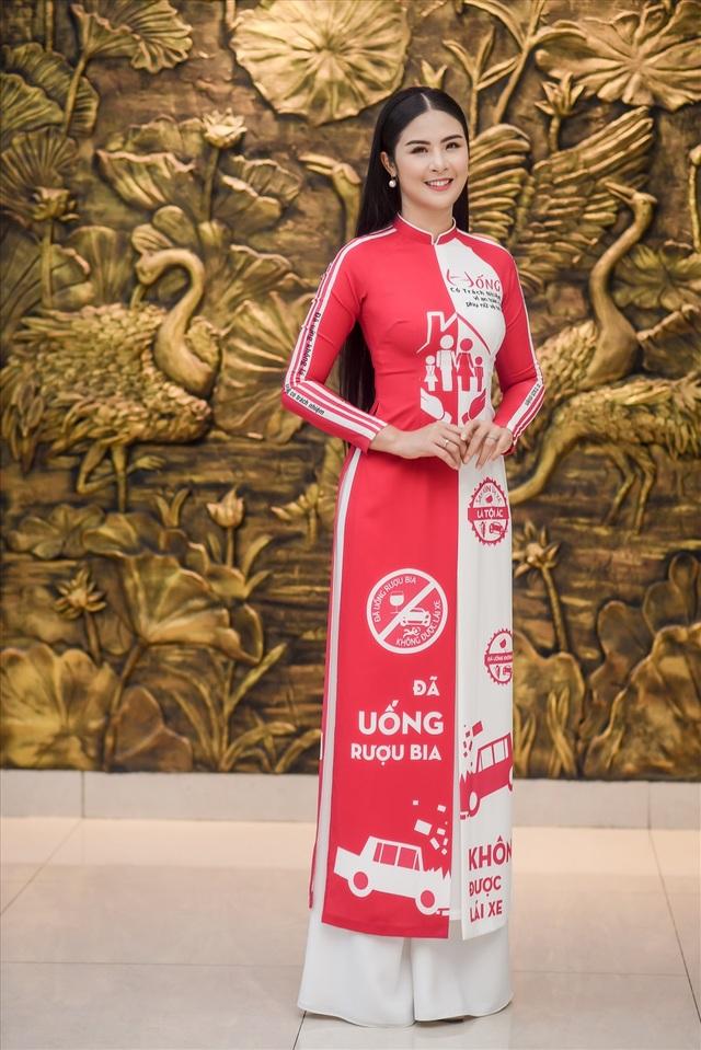 """Hoa hậu Ngọc Hân """"quá ưng"""" Nghị định xử phạt vi phạm nồng độ cồn - 2"""