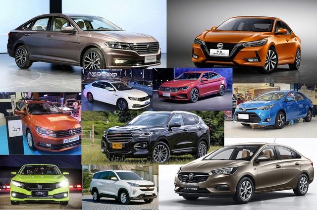 Top 10 mẫu xe bán nhiều nhất nước Mỹ năm 2019 - 2